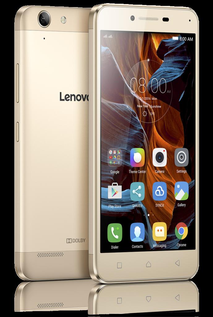 Lenovo VIBE K5_Gold