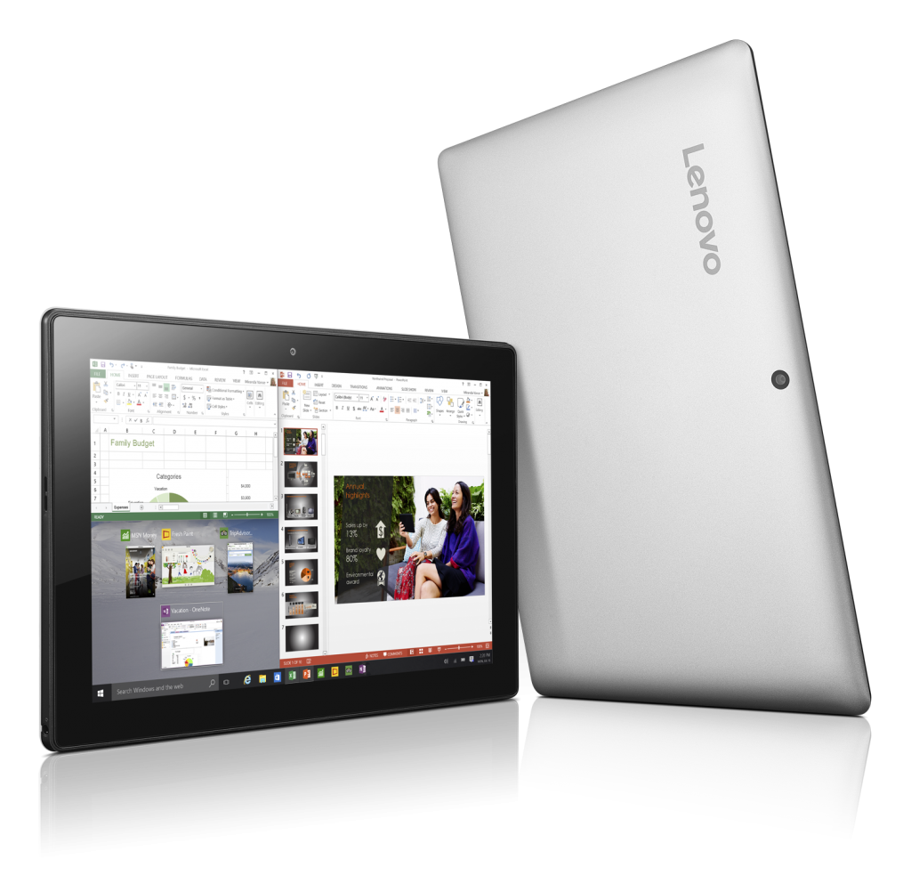 Lenovo ideapad MIIX 310 2-in-1 tablet_silver