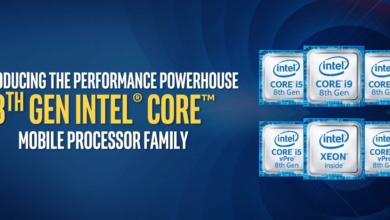 Photo of Представлен первый мобильный процессор Intel Core i9