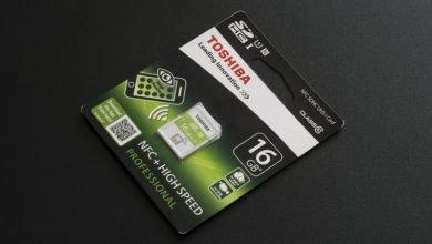 Photo of Обзор карты памяти Toshiba SD-T016NFC(6: Когда в флешке есть NFC
