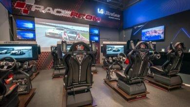 Photo of Открытие новой площадки RaceRoom Club игровыми мониторами от LG в рамках партнерской программы с кибеспортивным клубом Cyberspace