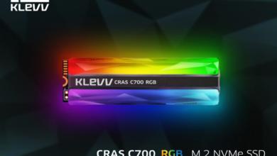Photo of Представлен новый SSD от Essencore — KLEVV CRAS C700 RGB NVMe M.2 SSD