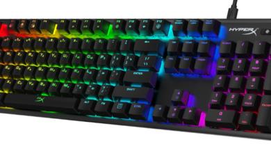 Photo of HyperX представляет игровую клавиатуру Alloy Origins на собственных переключателях