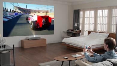 Photo of Ультракороткофокусный проектор от LG — LASER 4K CINEBEAM LG HU85LS