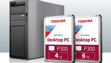 Photo of Toshiba дополняет серию накопителей  P300 новыми жесткими дисками емкостью 4 Тб и 6 Тб