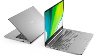 Photo of Acer дополнила серию Swift двумя новыми ультратонкими ноутбуками