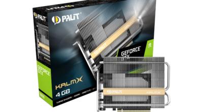Photo of Palit представляет видеокарту GeForce GTX 1650 KalmX с пассивным охлаждением