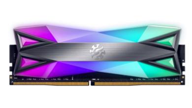 Photo of ADATA обновляет модули памяти XPG SPECTRIX D60G DDR4