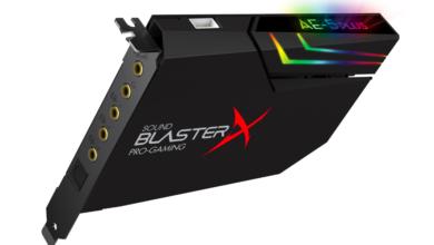 Photo of Sound BlasterX AE-5 Plus: обновлённая версия популярной звуковой карты