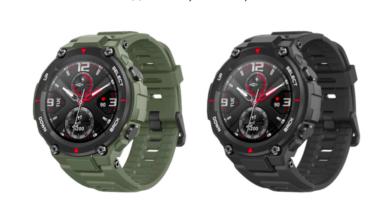Photo of Умные часы, соответствующие военным стандартам — Amazfit T-Rex