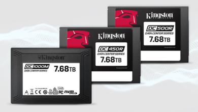 Photo of Kingston Technology начала поставки высокопроизводительных SSD ёмкостью 7,68 ТБ для дата-центров