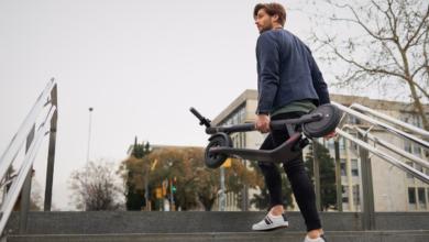 Photo of Ninebot-SegwayKickScooter E22: прочный и комфортный городской электросамокат