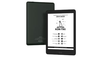 Photo of ONYX BOOX Kon-Tiki – букридер с большим экраном и в компактном корпусе