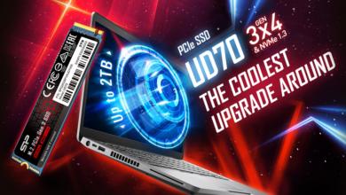 Photo of Новый твердотельный накопитель PCIe 3.0 Silicon Power UD70с современной сдвоенной системой охлаждения