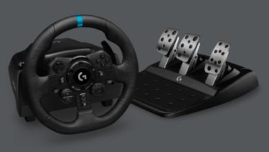 Photo of Logitech G представляет руль и педали G923 с поддержкой системы TRUEFORCE
