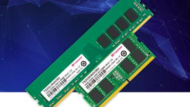 Photo of Модули памяти Transcend DDR4-3200 промышленного класса, оптимизированные под передачу данных в эпоху 5Gq