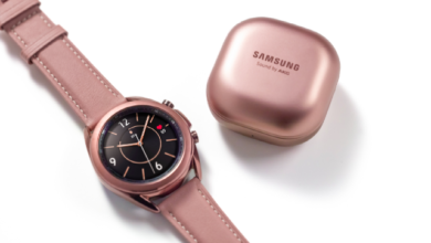Photo of Samsung показала Galaxy Watch3 и Galaxy Buds Live