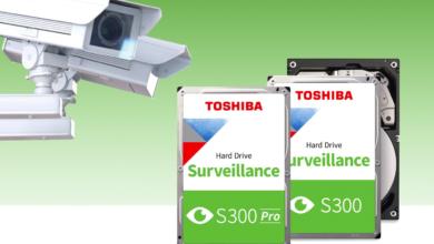 Photo of Toshiba расширяет линейку жёстких дисков для систем видеонаблюдения
