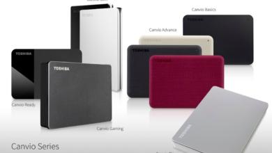 Photo of Toshiba представляет две новые модели портативных накопителей